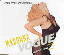 MADONNA - Vogue 12 inch version 2TR CDM 1990 POP