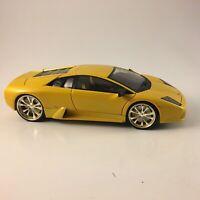 Hot Wheels 1/18 Scale Diecast - Lamborghini Murcielago Yellow 2001