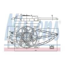 Fits Fiat Panda 1.2 Genuine OE Quality Nissens Engine Cooling Radiator Fan