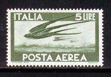 W007 ITALIA 1962 Posta Aerea Democratica l. 5 MNH**