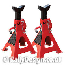 Big Red Double Locking Axle Stands 3 Ton - Double Safe - SWE054