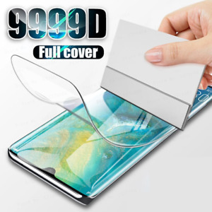 For Huawei P30 P40 Pro Mate P Smart TPU Hydrogel FILM Screen Protector COVER