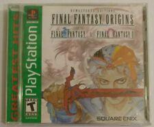 Final Fantasy Origins Playstation 1 PS1 NTSC USA Jewel Case Read Description
