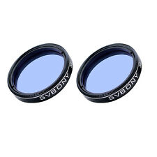 """2PCS 1.25"""" Astronomy Telescope Eyepiece Moon Filter for Moon/Planets Observation"""