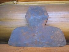 """Vintage Primitive 12 1/4"""" Hand Forged 8 lb Hewing BROAD AXE Head"""