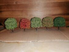 N gauge model railway trees trains buildings scenery train hornby graham farish