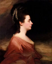Dream-art Oil painting george romney portrait of harriet gale mrs john blanshard