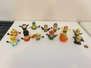 Despicable Me Minion Figure Set Lot x 13, See Others & Combine Postage,Minions