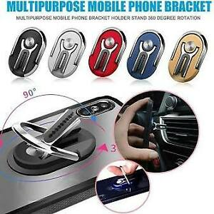 Car Universal Multipurpose Mobile Phone Bracket Rotating Ring Phone Holder Stand
