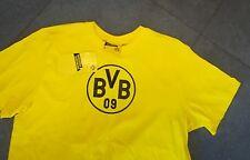 NEU T-shirt Borussia Dortmund in gelb mit schwarzem Druck in L BVB