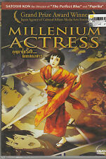 Millenium Actress Japanese Animation English Subtitle <Brand New DVD>