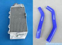 Blue Aluminum Radiator&Hose For Yamaha YZ85 YZ 85 2002-2015 08 09 10 11 12 13 14