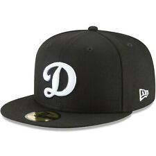 Los Angeles Dodgers New Era Basic 59FIFTY Fitted Hat - Black