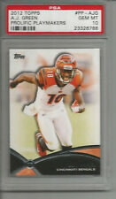 2012 Topps A.J. Green Prolific Playmakers  PSA 10