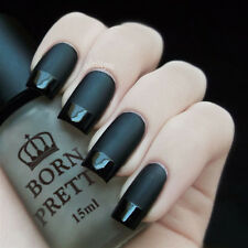 15ml Super Matte Dull Nail Polish Change Surface Glossy Top Coat Oil Born Pretty