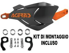 Coppia Paramani Nero/arancio X-factory Kit montaggio Universali Moto Acerbis