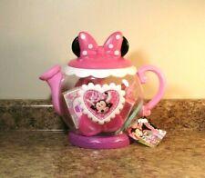 New listing Disney Minnie Mouse Terrific Teapot Set Pretend Food Priority Ship New