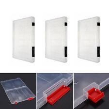 A4 Ordner verschließbar Dokumentenmappe Aufbewahrungsbox Halterung Papier Büro