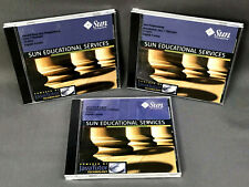 Sun Java Programming - Set of 3 Java-2 Platform Training CDs - Vintage (c) 1999