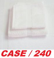 Garnier Thiebaut White Wash Cloth 100% Cotton 13x13 French Towel (CASE of 240)