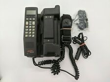 Vintage Ericsson Hotline 2112 Mobile Car Phone Cell Retro Carrying Case Chargers