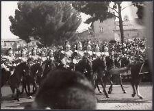 YZ3016 Roma - Festa Repubblica - Militari a Cavallo - Foto d'epoca - 1960 photo