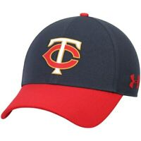 Minnesota Twins Under Armour MLB Driver Cap 2.0 Adjustable Hat - Navy