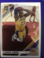 2019-20 Panini Donruss Optic LeBron James LA Lakers Card #60