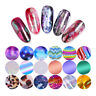 10 Rolls/Box Holographicss Nail Art Foil Transfer Stickers Glitter Candy Sticker
