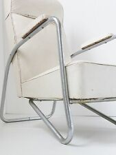 SUPERBE FAUTEUIL MODERNISTE 1950 1960 VINTAGE DESIGN 50S 60S FRENCH LOUNGE CHAIR