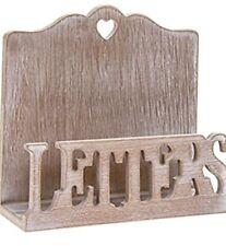 The Leonardo Collection Natural Wooden Letter Rack 16x6x15cm LP43512