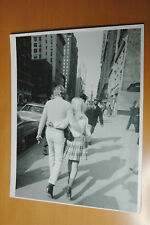 JOHNNY HALLYDAY SYLVIE VARTAN NEW YORK 1968 VINTAGE PHOTO ORIGINAL #2 28x35cm