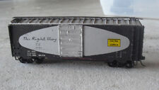 Vintage HO Scale Central of Georgia The Right Way CG 5751 Box Car