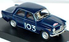 1/43 scale Alfa Romeo Giulietta T.I. 1962 Monte Carlo Rally #103 Masoero-Maurin