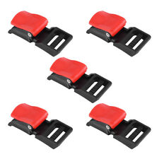 5Pcs Motorcycle Helmet Speed Clip Chin Strap Quick Release Disconnect Buckle Hot