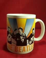 The Beatles a Hard Days Night Black White Ceramic Mug Official Merchandise Boxed
