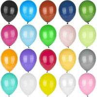 "10-100, Pearl LATEX BALLOONS,10"", Helium Christening Party, Birthday, Ballon UK"