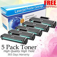 5PK MLT-D104S Toner For SCX-3201 3205 3205W 3206 ML-1660 1661 1665 1670 1675