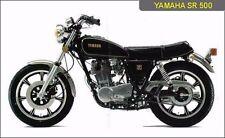 Yamaha SR500 SERVICE ,Owner's & Parts Manual CD