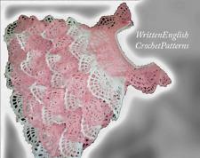 Crochet Pattern/ Pdf Download English Pattern for crochet baby dress 4