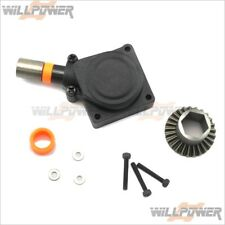 FC / SH Engine Back Plate (RC-WillPower) Pull Roto Start Hex Shaft Motor