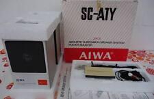 1980s Vintage AIWA  SC-A1Y Lautsprecher Boxen Set in OVP Walkman Speaker Japan