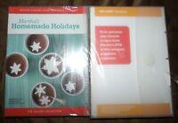 Martha Stewart Holidays: Homemade Holidays (DVD, 2005)  *New Sealed*