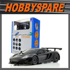 Kyosho Mini Z RC Mr03 Sports 2 Ready Set McLaren 12c Gt3 Matt Black RTR