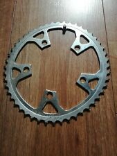 retro Shimano Biopace chainring 48 tooth steel used 5 arm 110 BCD