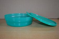 Tupperware Schüssel ca 400ml mit dicht schließendem Deckel grün wie neu!