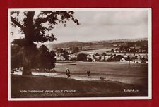 GB Kirkcudbright from Golf Course heritage postcard