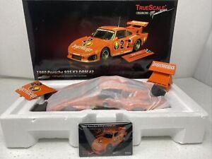 1/18 TSM Truescale 1980 Porsche 935 Jagermeister K3 DRM #2 Part # TSM09182