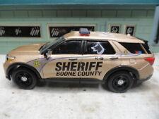 GREEN LIGHT POLICE FORD EXPLORER SHERIFF BOONE COUNTY K-9 CUSTOM UNIT