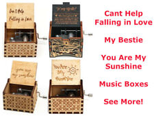 Cheap Unique Gifts for Men Bestie Girlfriend Wife Wooden Music Musical Box Boxes